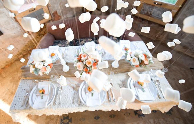 Diy canape wedding