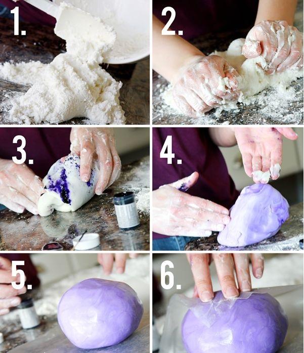 Как сделать мастику рецепт с фото пошагово 127